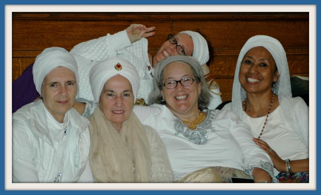 Kundalini Yoga Volunteers at a Party in Toronto